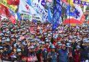 เกาหลีใต้รวมตัวประท้วงใหญ่อีกครั้ง เพื่อกดดันประธาราธิบดีหญิงให้พ้นจากตำแหน่ง