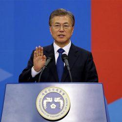 เกาหลีใต้ได้มีการเลือกตั้งประธานาธิบดีคนใหม่ และเริ่มมีผลนับต่อจากนี้เป็นต้นไป