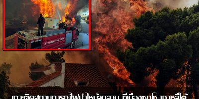 เกาะติดสถานการณ์ไฟป่าไหม้ลุกลาม ที่เมืองซกโช เกาหลีใต้